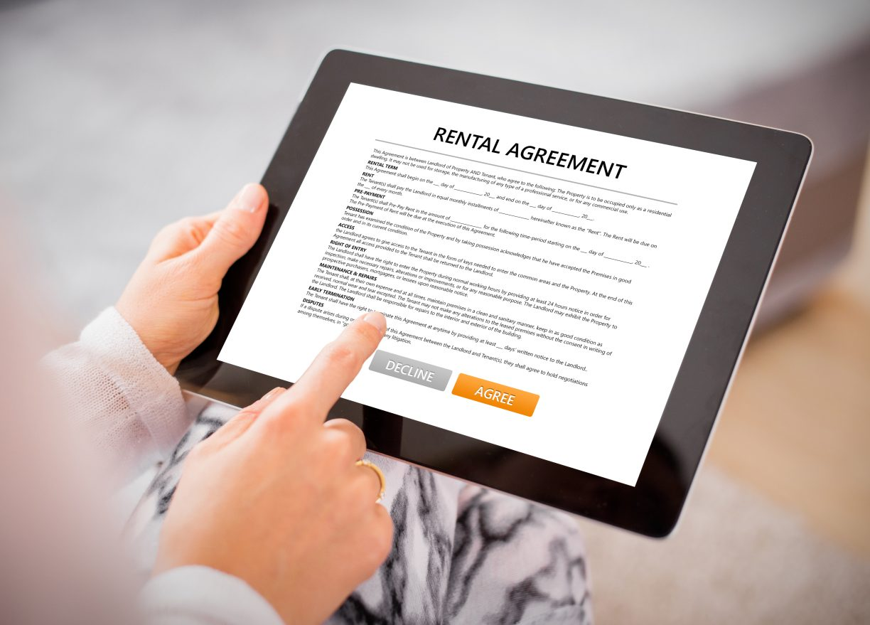 breaking your rental agreement
